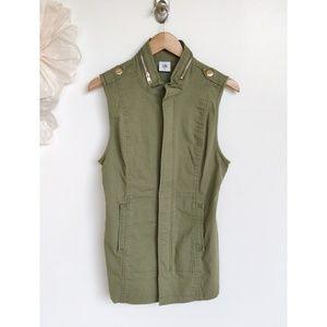 Cabi Army Green Utility Explorer Vest